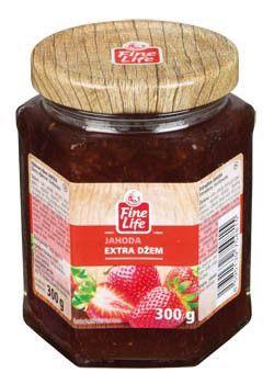 Fine Life Džem výběrový jahoda - Erdbeermarmelade