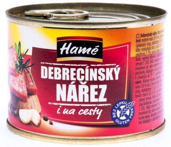 Hamé Debrecínský nářez - Debreziner geschnitten
