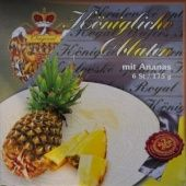 Královské Oplatky mit Ananasgeschmack