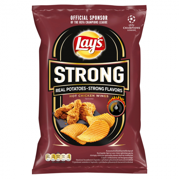 Lay's Chipsy Strong chicken wings