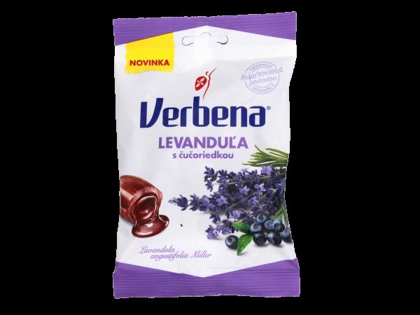 Verbena Levanduľa a Čučoriedka - Gefüllte Kräuterbonbons mit Lavendel