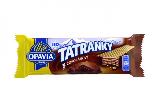 Waffel - Tatranky mit Schokoladengeschmack