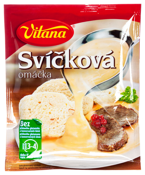 Svícková - Fertigmischung - Sahnesoße