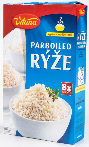 Rýže parboiled varné sáčky - Vitana Reis parboiled Kochsäcke