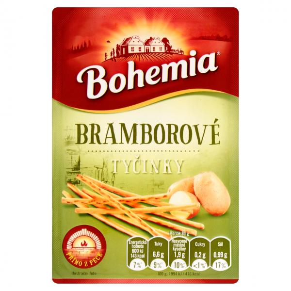 Bohemia Tyčinky bramborové - Kartoffel - Knabbersticks