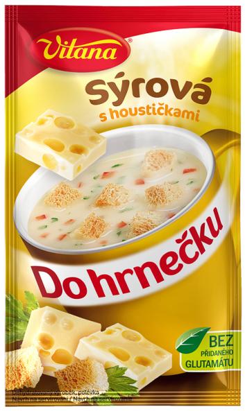 Do hrnečku sýrová - Käsesuppe 1 Tasse