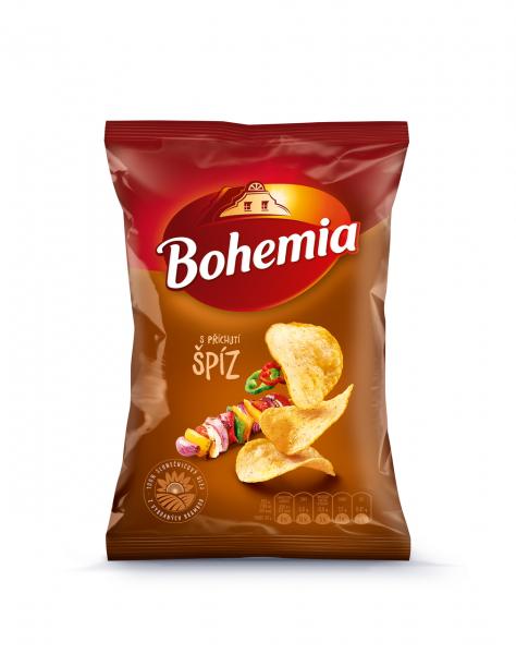 Bohemia Chips Spíz - Schaschlik Spieß Chips