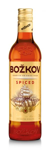 Božkov Spiced 30% - gewürzt