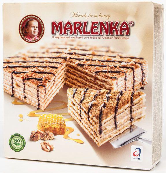 Marlenka - Honigtorte pur