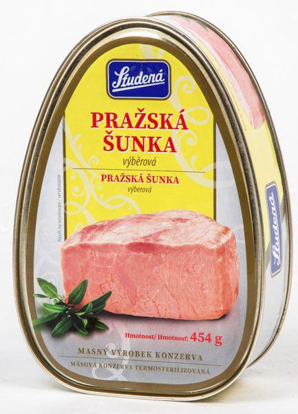 Studená Bohemia Pražská šunka - Prager Schinken Marke Studena