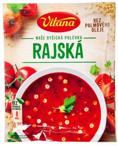Rajská Tomatensuppe - 3 Portionen