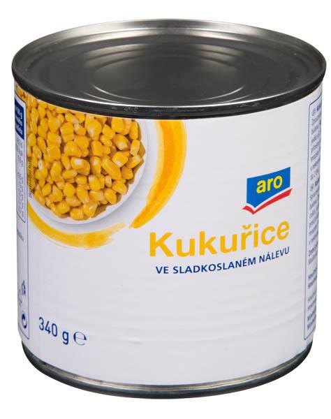 Kukuřice ve sladkoslaném nálevu - Mais in süßer Salzlösung