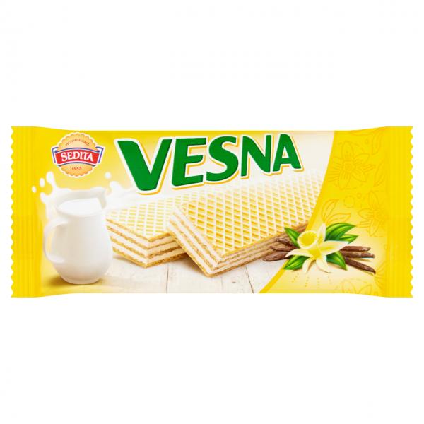 Sedita Vesna oplatky - mit Sahne-Vanille-Geschmack