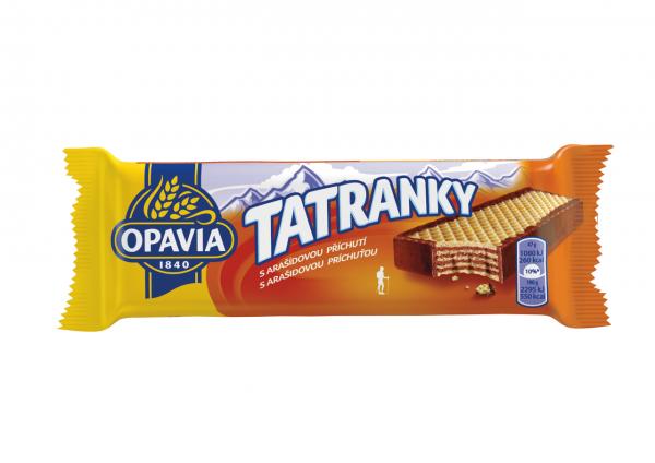 Waffel - Tatranky mit Erdnussgeschmack