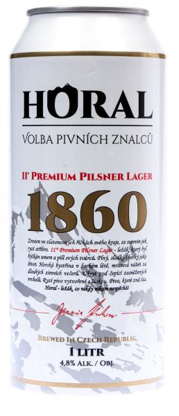 Horal světlý ležák pivo - leichtes Fassbier