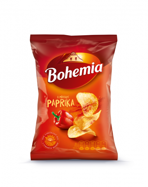 Bohemia Chips Paprika - Paprikageschmack