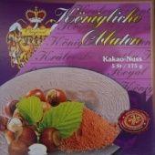 Královské Oplatky mit Kakao-Nuss Füllung
