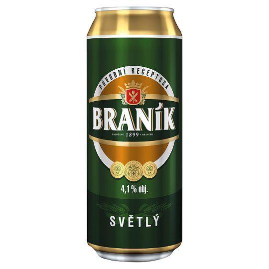 Braník světlé výčepní pivo - Fassbier