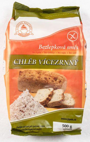 Jizerské pekárny Směs na vícezrnný chléb bezlepková - glutenfreie Mehrkornbrot-Mischung