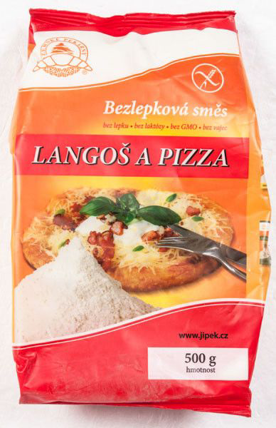 Jizerské pekárny Směs na pizzu/langoše bezlepková - glutenfreie Pizza / Langos-Mischung