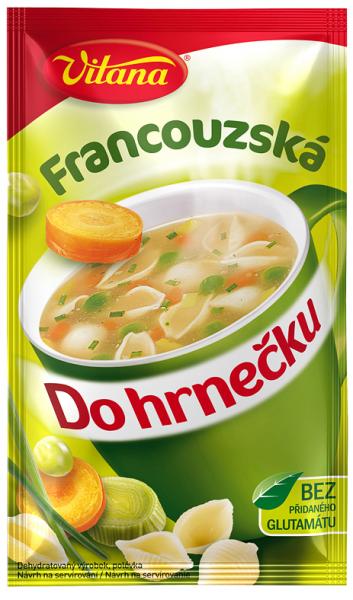 Do hrnečku francouzská- Französische Suppe 1 Tasse