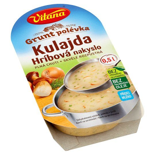 Grunt polévka Kulajda - Paste für saure Pilzsuppe - 1693