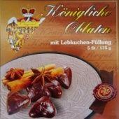 Královské Oplatky Lebkuchengeschmack