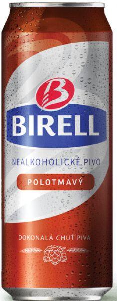 Birell polotmave - alkoholfrei halbdunkel - 1524