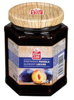 Fine Life Povidla švestková - Zwetschgenmarmelade