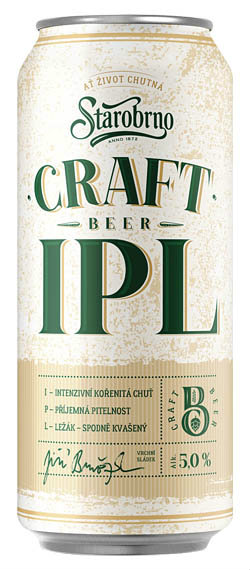 Starobrno Craft pivo India Pale Ale - Craft Bier India Pale Ale