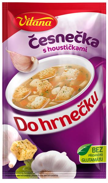 Do hrnečku česnečka - Knoblauchsuppe 1 Tasse