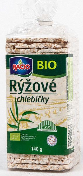 Racio Chlebíčky rýžové BIO - Racio Reisbrot BIO