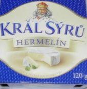 Král - Sýr Hermelín natur Maxi