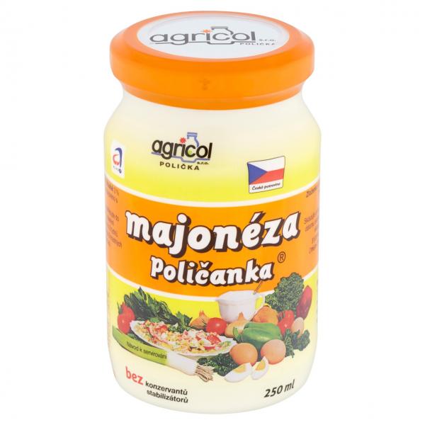 Agricol Poličanka Majonéza - feine Mayonnaise
