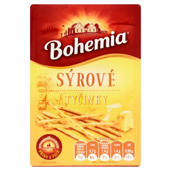 Bohemia Tyčinky sýrové - Käse - Knabbersticks