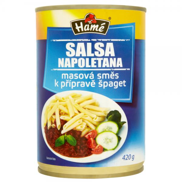 Hamé Salsa Napoletana masová směs na špagety - Napoletana Fleischmischung für Spaghetti