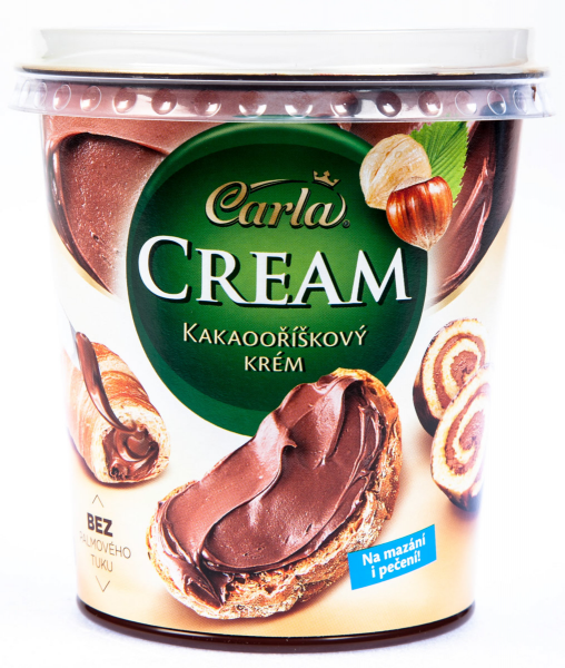 Carla Cream Kakaooříškový krém - Carla Kakaocreme mit Haselnuss