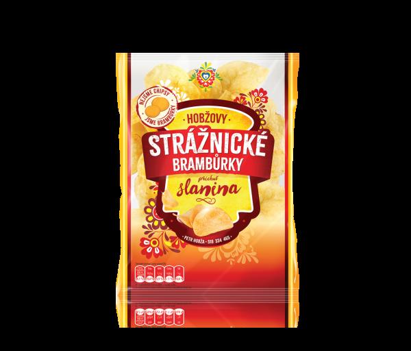 Stráznické Bramburky slaninové - Schinkenchips