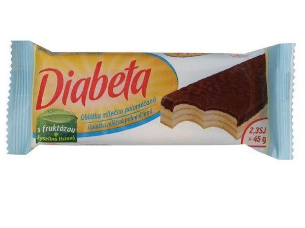Milchwaffel für Diabetiker
