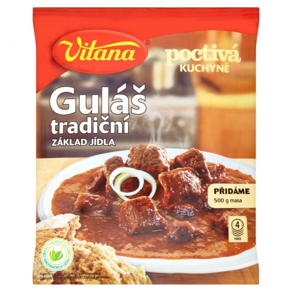 Gulás tradicní - Fertigmischung - traditionelles Gulasch - 1638