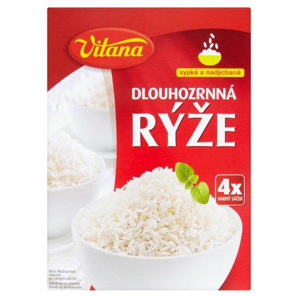 Vitana Rýže dlouhozrnná varné sáčky - Reis Langkorn-Kochbeutel