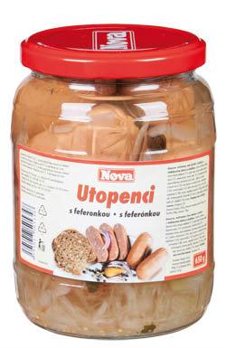 Nova Utopenci s feferonkou - Nova Utopenci mit Paprika