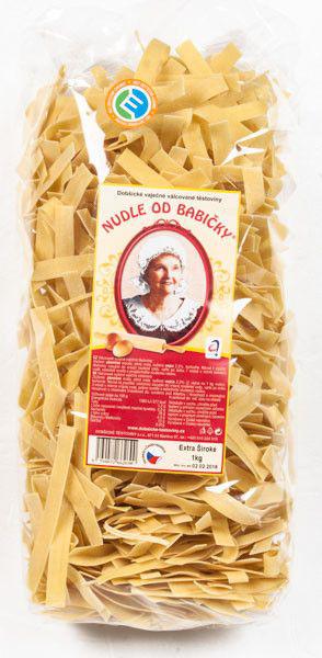 Dobšice Pasta - Oma's Nudeln extra breit 1kg