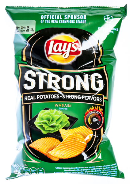 Lay's Strong Wasabi Chips