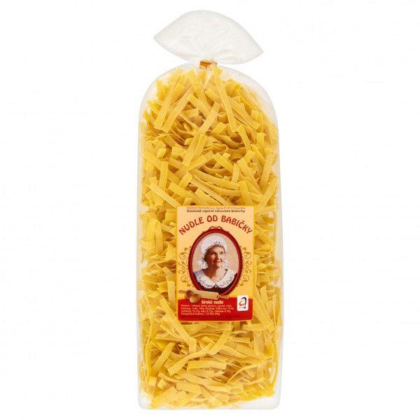 Dobšické těstoviny Nudle od babičky široké - Oma's Nudeln breit