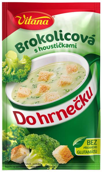 Do hrnečku brokolicová - Brockolisuppe 1 Tasse