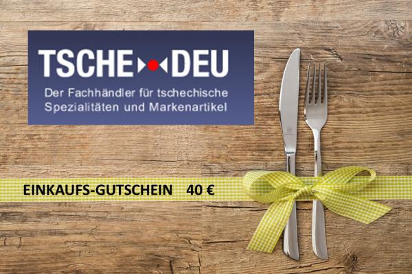 Einkaufsgutschein 40 EURO