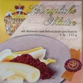 Královské Oplatky Banane und Schokoladengeschmack