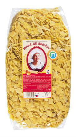 Dobšické těstoviny Nudle od babičky fleky - Oma's Fleckerln 2kg