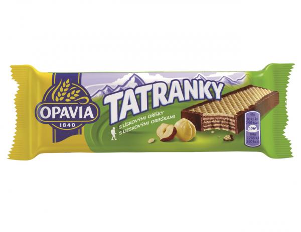 Waffel - Tatranky mit Haselnussgeschmack